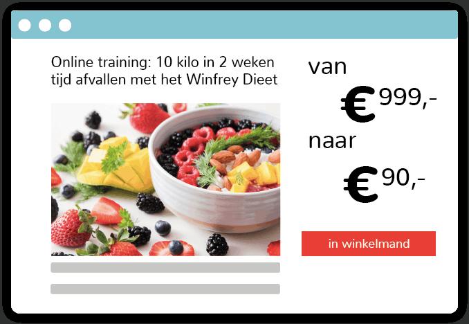 onrealistische online training