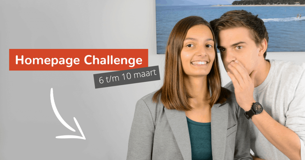 promotie eerste online challenge