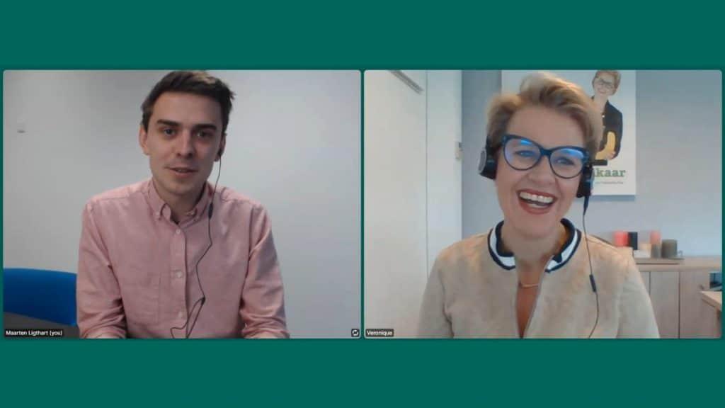 online interview Veronique Prins