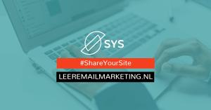 ShareYourSite - LeerEmailMarketing.nl